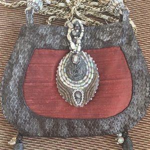 Mary Frances Shoulder Bag